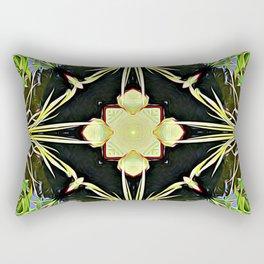 Diamond Centered Patience Rectangular Pillow
