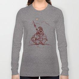 Nature Warriors: Battle Hedgehog Long Sleeve T-shirt