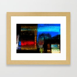 Abstract Certainty Framed Art Print