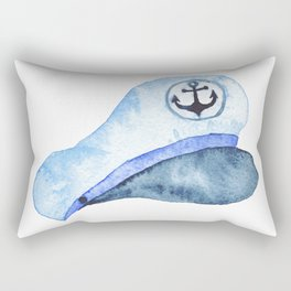 Nautical Hat Rectangular Pillow