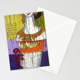 A Handicap Girl Stationery Cards