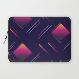 Future Portals Synthwave Aesthetic Laptop Sleeve