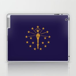 Indiana State Flag Laptop & iPad Skin