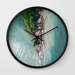 Point Pelee Aerial Wall Clock