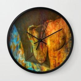Umbrella story Wall Clock
