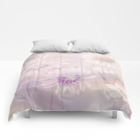 soft daisies Comforters