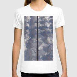 Snow #tracks T-shirt