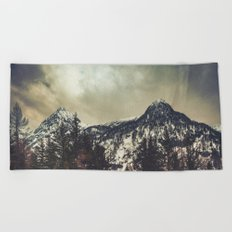Alpine Twin Peaks Beach Towel
