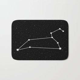 Leo Astrology Star Sign Bath Mat