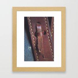 In the Details Framed Art Print