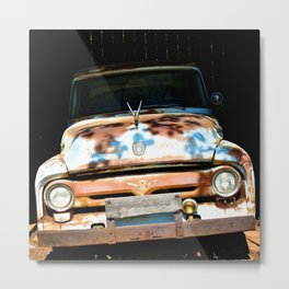 Smiley Metal Print