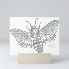 Death's Head Moth Mini Art Print