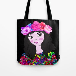 Spring in the Heart of Winter | Kids Painting Tote Bag