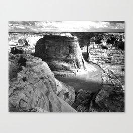 Vintage Landscape : Canyon de Chelly National Monument, Arizona Canvas Print