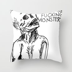 A word on strangers Throw Pillow