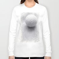 golf Long Sleeve T-shirts featuring GOLF by Yilan