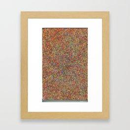 zooming Framed Art Print