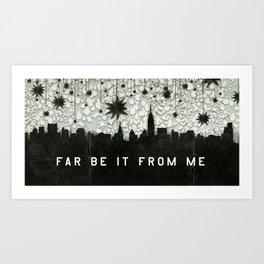 A Good Sky for Falling Art Print