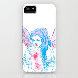 Art Angel iPhone Case