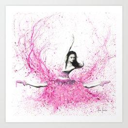 Blossom Ballet Art Print