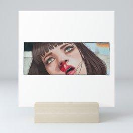 Mia Wallace Mini Art Print