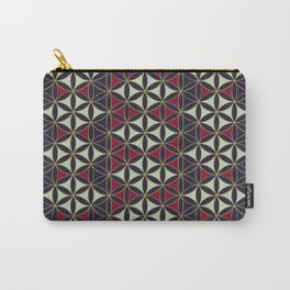 Flower of Life Pattern 7 Carry-All Pouch