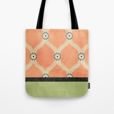 Tangerine Deco Tote Bag