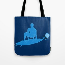Water Surfer Tote Bag