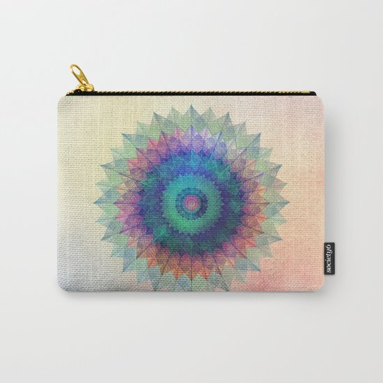 Leaf Mandala Carry-All Pouch