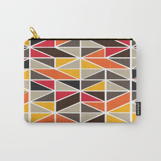 African Tribal Pattern No. 3 Carry-All Pouch