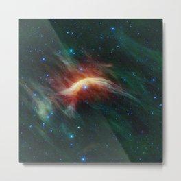 Space storm Metal Print