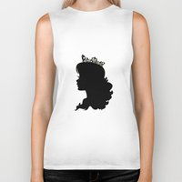silhouette Biker Tanks featuring Silhouette by Urlaub Photography