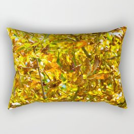 Autumn leaves pattern Rectangular Pillow
