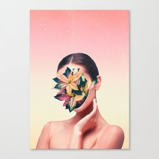 PLANT FACE Canvas Print
