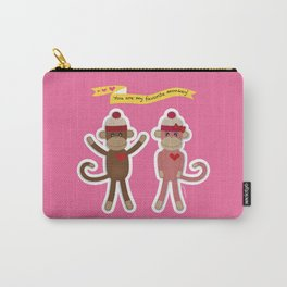 Favorite Monkey Carry-All Pouch