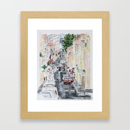 Sète Framed Art Print