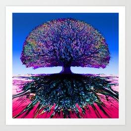 Tree of Life Creative Link Art Print