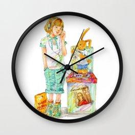 Indie Pop Girl vol.2 Wall Clock