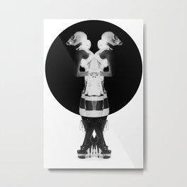 Fetish Cyamese Metal Print
