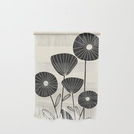 Abstract Flowers Wall Hanging