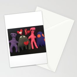 Scarboo babies series - JEAN LUC AND FAMILY Stationery Cards