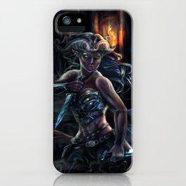 Tiefling Rogue iPhone Case