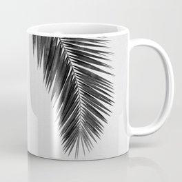 Palm Leaf Black & White I Coffee Mug
