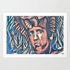 another birck head Art Print
