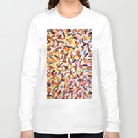 sprinkles Long Sleeve T-shirts featuring Sprinkles by Rachel Butler