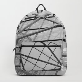 Modern Abstract Architecture Backpack