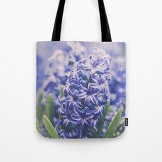 Blue Hyacinth Tote Bag