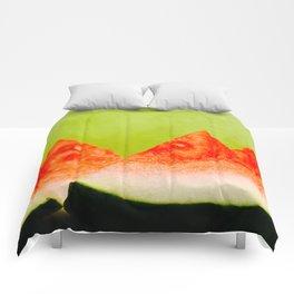 Watermelon Slices Comforters