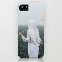 All white iPhone Case