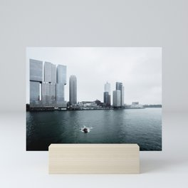 De Rotterdam | OMA architects | Netherlands Mini Art Print